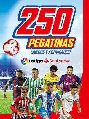 250 PEGATINAS DE LA LIGA SANTANDER