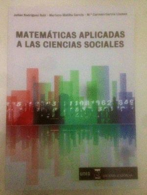MATEMÁTICAS APLICADAS A LAS CIENCIAS SOCIALES TEORÍA