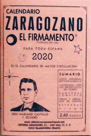 CALENDARIO ZARAGOZANO 2020
