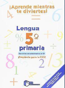 5EP LENGUA APRENDE MIENTRAS TE DIVIERTES