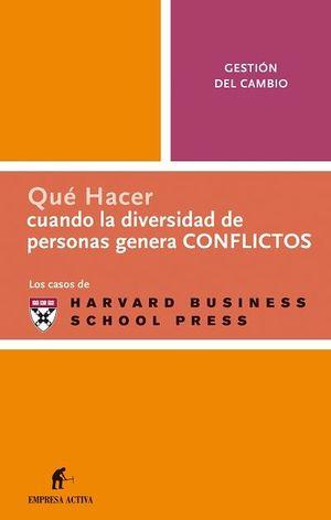 DIVERSIDAD DE PERSONAS PROVOCA CONFLICTOS (QH