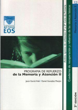 PROGRAMA DE REFUERZO DE LA MEMORIA Y ATENCION II