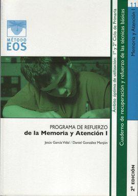 MEMORIA-ATENCIÓN I