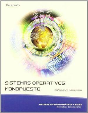 DESCATALOGADO SISTEMAS OPERATIVOS MONOPUESTO PARANINFO 2010