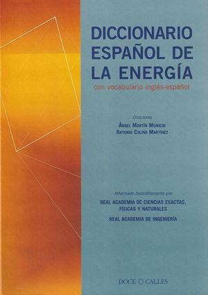 DICCIONARIO ESPAÑOL DE LA ENERGIA