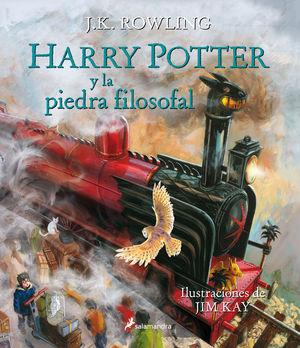 HARRY POTTER Y LA PIEDRA FILOSOFAL ( ILUSTRADO )