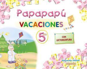 PAPAPAPÚ 5. CUADERNO DE VACACIONES