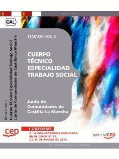 CUERPO TÉCNICO. ESPECIALIDAD TRABAJO SOCIAL. JUNTA DE COMUNIDADES DE CASTILLA-LA