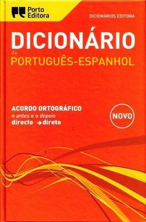 DICIONÁRIO EDITORA PORTUGUÊS-ESPANHOL