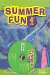 4ESO SUMMER FUN SB+CD BURLINGTON